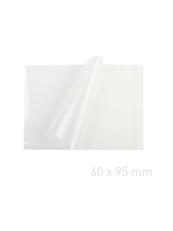 Folia laminacyjna - O.POUCH Matt / Matt 60 x 95 mm (wizytówkowa)