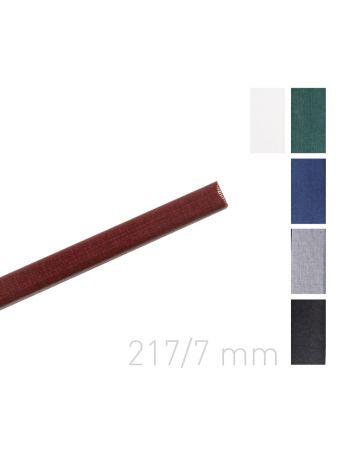 Kanał oklejany - O.CHANNEL Classic 217 mm (A4+ poziomo, A5+ pionowo) - 7 mm - szary - 10 sztuk