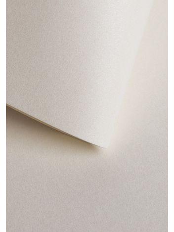 Wysokiej jakości papier ozdobny - O.Papiernia PERŁA - 250 g/m² - kość słoniowa - 20 sztuk