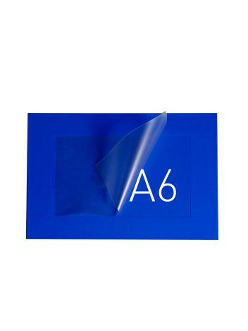 O.POUCH DISPLAY 165 x 211 mm (A6) - niebieski - 20 sztuk