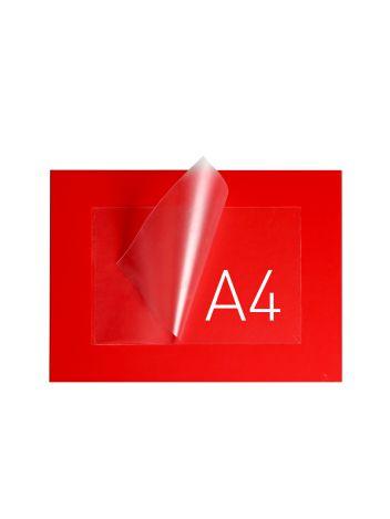 O.POUCH DISPLAY 290 x 379 mm (A4) - czerwony - 20 sztuk