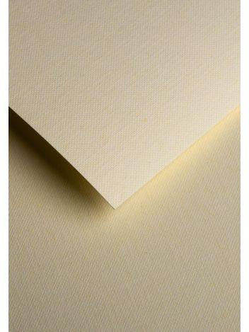 Wysokiej jakości papier ozdobny - O.Papiernia PLECIONY - 230 g/m² - kremowy - 20 sztuk