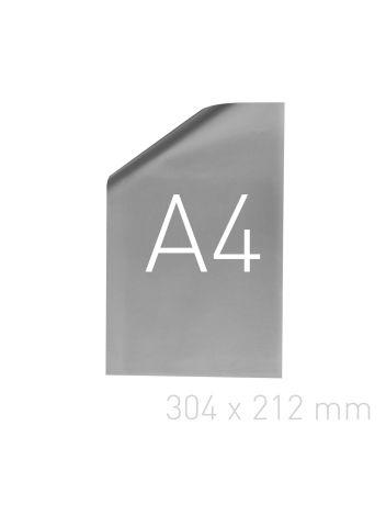 Papier posrebrzany - O.pouchCOVER PAPER 304 x 212 mm (A4 orientacja pionowa) - srebrny - 25 sztuk