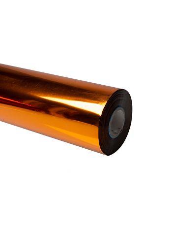 Folia do złoceń, nabłyszczeń w rolce na wydrukach laserowych przy użyciu termotransferu - O.FOIL Toner Print - 64 cm x 200 m - miedziany