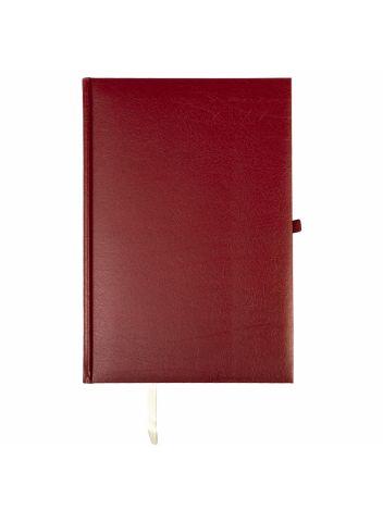 Kalendarz terminarz biurowy twardy z miejscem na długopis na rok 2022 - O.DIARY Wenus - 256 x 176 mm (B5) - bordowy