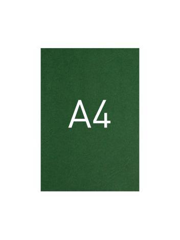 Okładka kartonowa o fakturze skóry - DocCover - 297 x 210 mm (A4) - 100 arkuszy - zielony