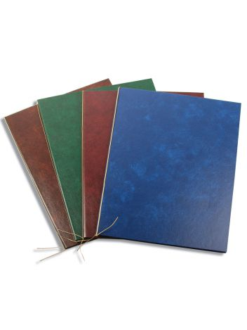 Okładka na dyplom - O.Presentation Cover Oscar 216 x 146 mm (A5+ pionowa) - niebieski - 10 sztuk