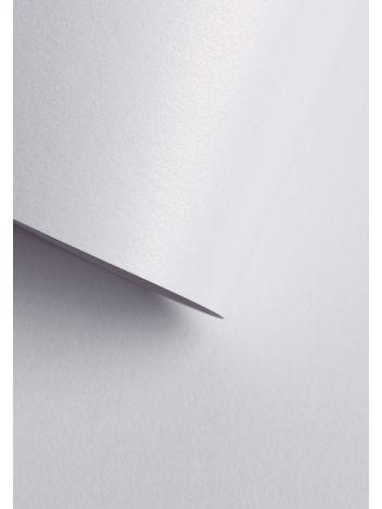 Wysokiej jakości papier ozdobny - O.Papiernia PERŁA - 250 g/m² - śnieżnobiały - 20 sztuk