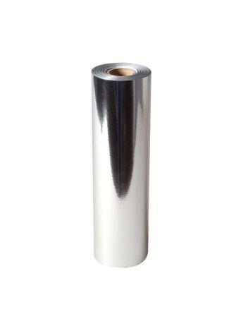 Uniwersalna folia do złoceń, nabłyszczeń w rolce - O.FOIL BASIC - 21 cm x 120 m - srebrny