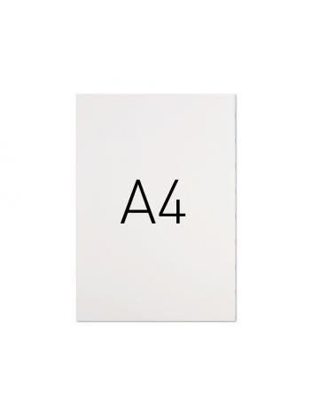 Miękka okładka kartonowa - O.POPULAR 297 x 210 mm (A4) - 100 arkuszy - biały