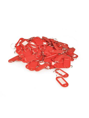 Zawieszki do kluczy - Opus Key Tag KT 1 - czerwony - 100 sztuk
