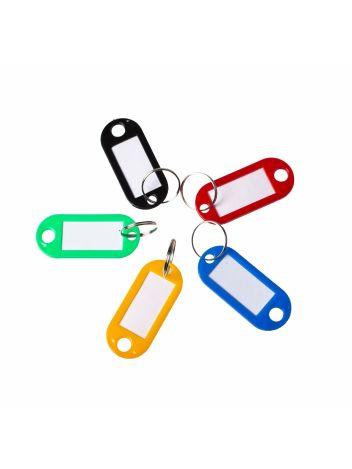 Zawieszki do kluczy - Opus Key Tag KT 1 - miks 5 kolorów - 100 sztuk