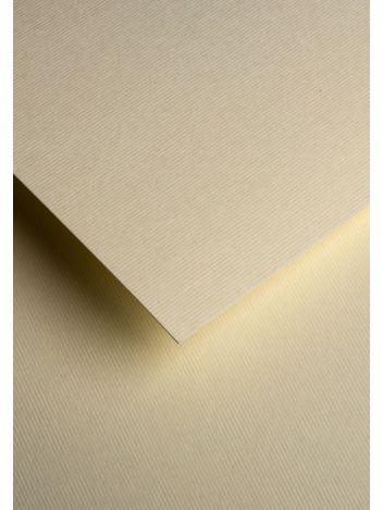 Wysokiej jakości papier ozdobny - O.Papiernia PASKI WĄSKIE - 230 g/m² - kremowy - 20 sztuk