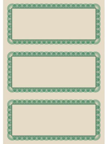 O.Papiernia KUPON B - 190 g/m² - 25 sztuk
