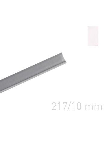 Kanał oklejany - O.CHANNEL Art 217 mm (A4+ poziomo, A5+ pionowo) - 10 mm - biały - 10 sztuk