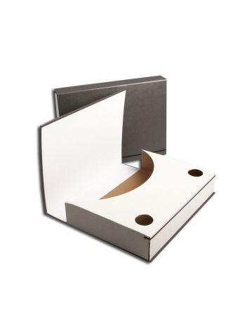 Teczka na dokumenty - Document BOX Classic - 320 x 235 mm (A4+ pionowa) - 50 mm - szary - 10 sztuk