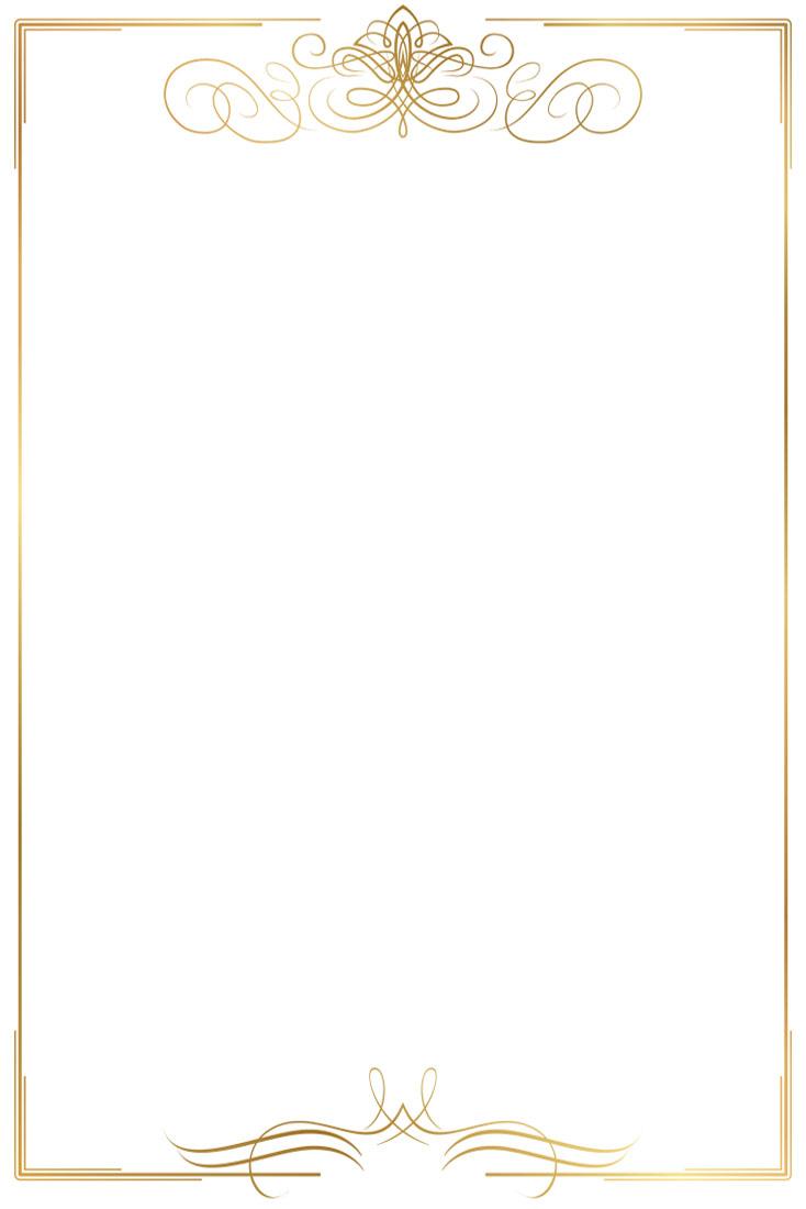 O.Papiernia VINTAGE 1 - 190 g/m² - złoty - 25 sztuk