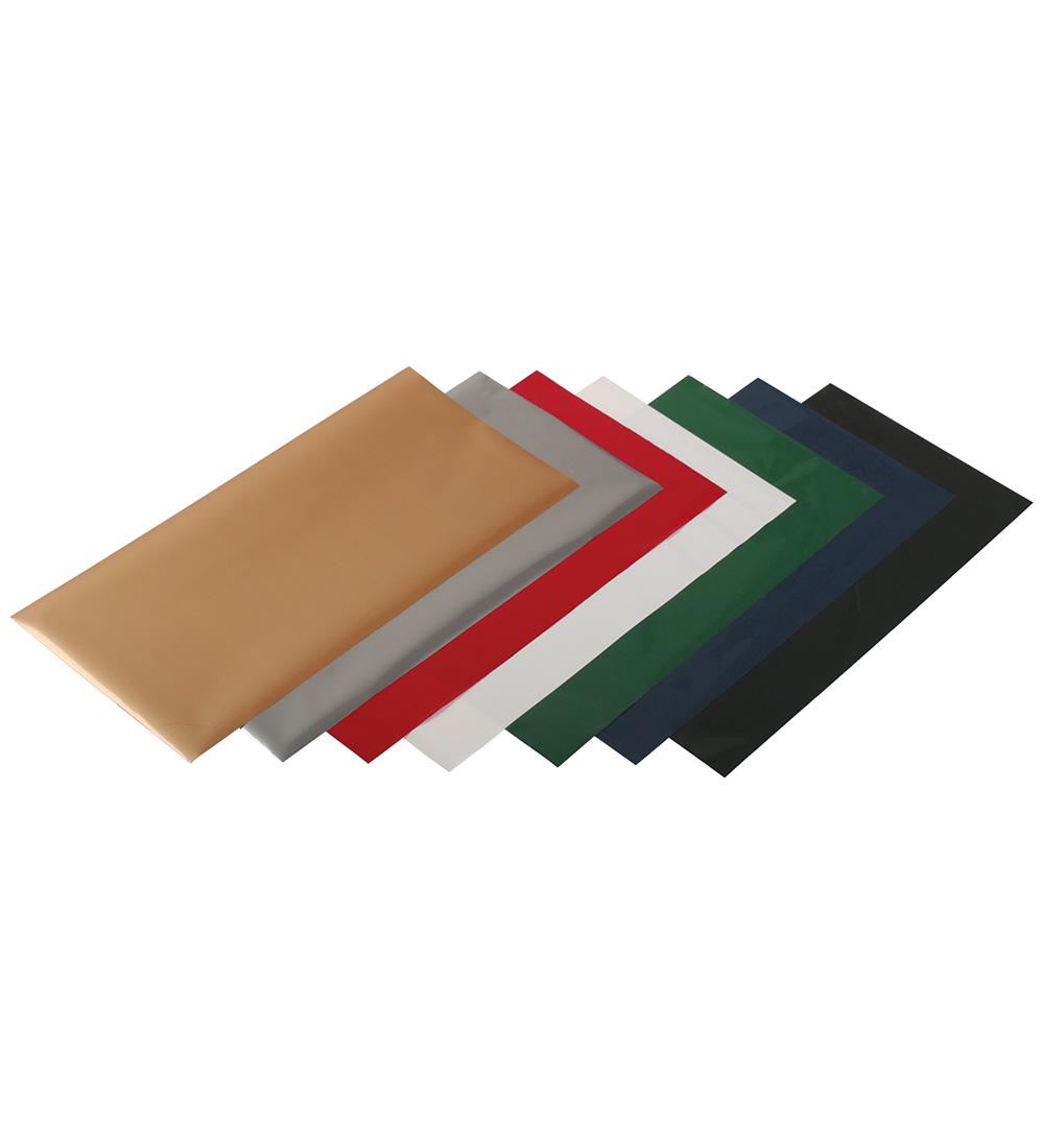 Uniwersalna folia do złoceń, nabłyszczeń w arkuszach - O.FOIL Q&E - 13 x 21 cm - srebrny - 200 arkuszy