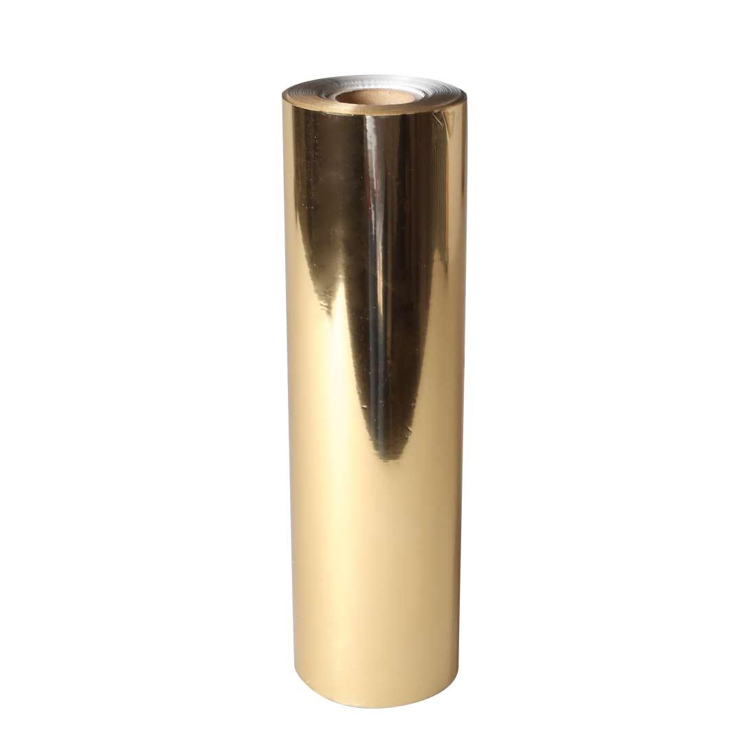 Uniwersalna folia do złoceń, nabłyszczeń w rolce - O.FOIL UNIVERSAL - 21 cm x 122 m - złoty