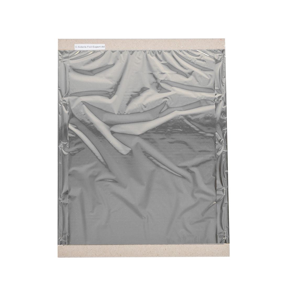 Folia do złoceń, nabłyszczeń w arkuszach - O.FOIL SIDERIS Expert - A4 (297 x 210 mm) - srebrny - 200 arkuszy