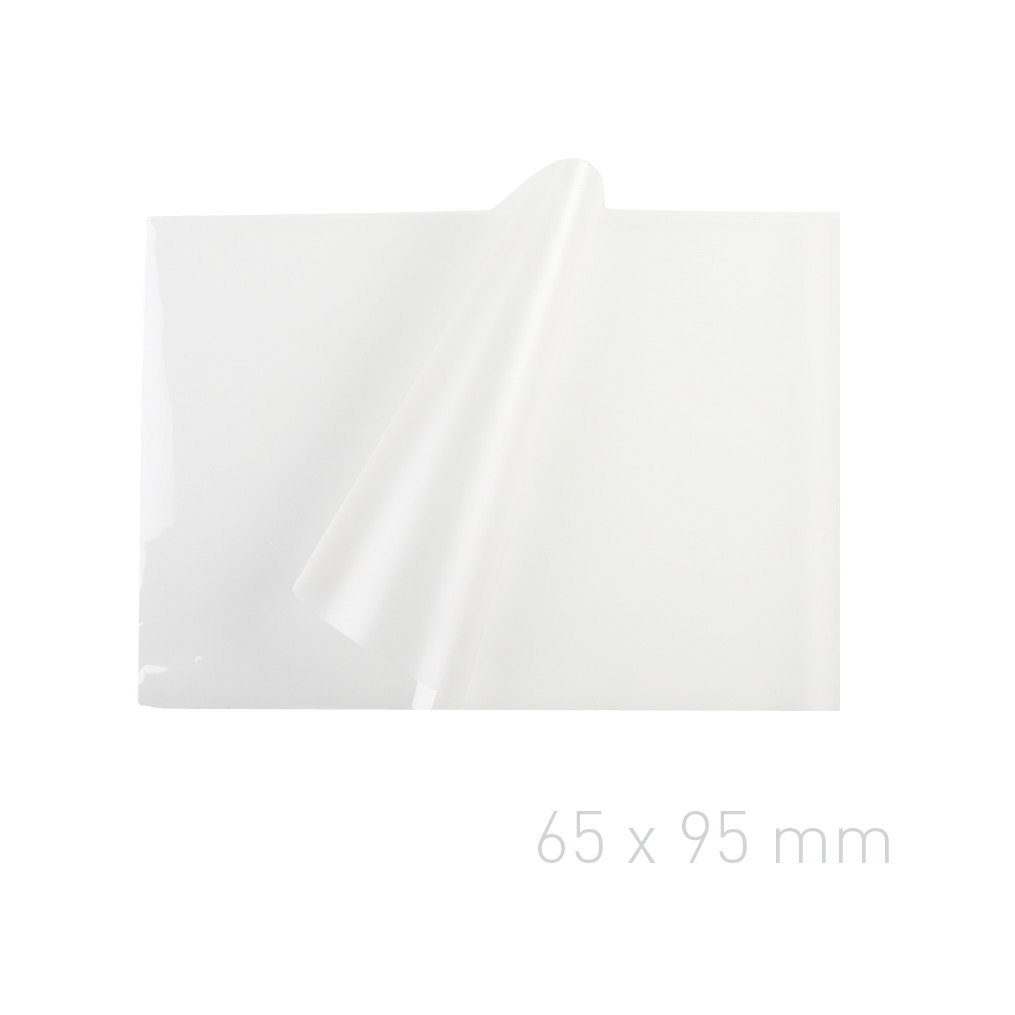 Folia laminacyjna - O.POUCH Super 65 x 95 mm (wizytówkowa) - 80 µm - 100 sztuk
