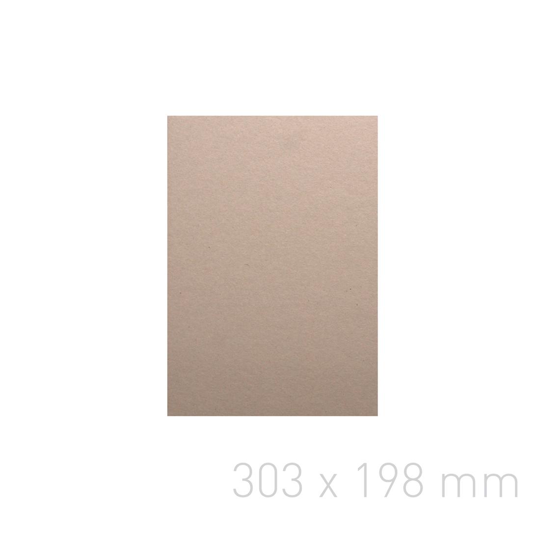 Kartoniki do okładek indywidualnych - O.greyBOARD POBC 2,2 x 303 x 198 mm (A4 orientacja pionowa) - 100 sztuk