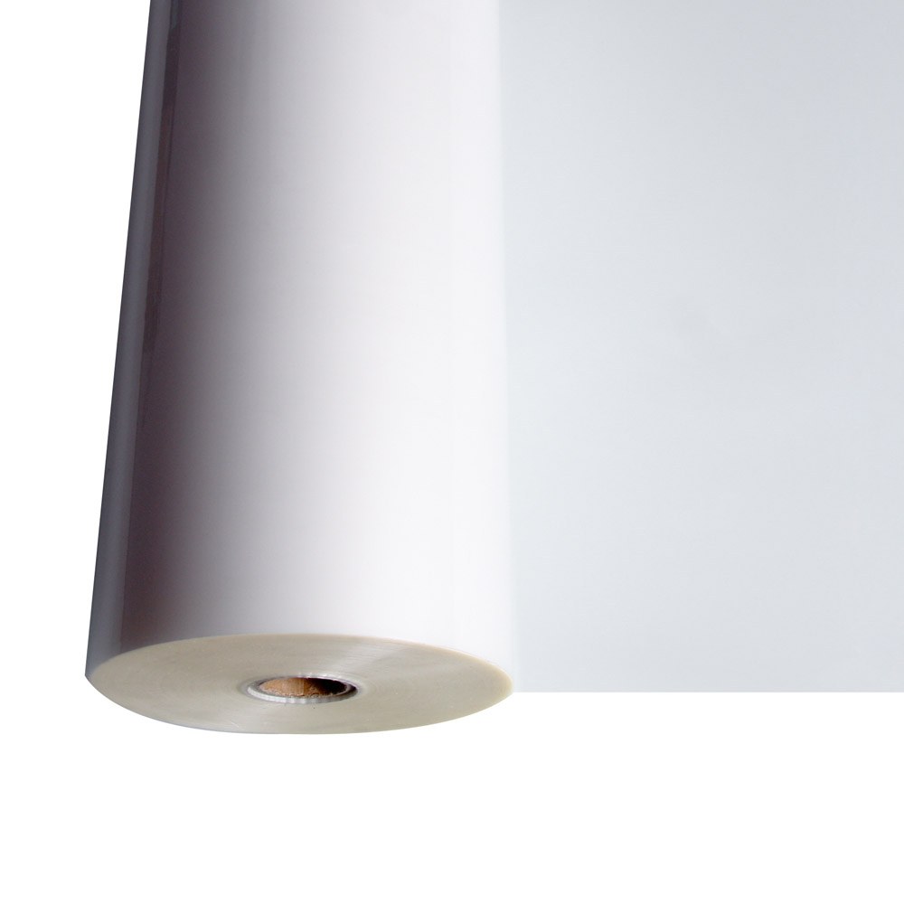 Folia laminacyjna rolowa błyszcząca - O.FILM Super 32 µm - 500 m - średnica glizy 25 mm - szerokość 685 mm