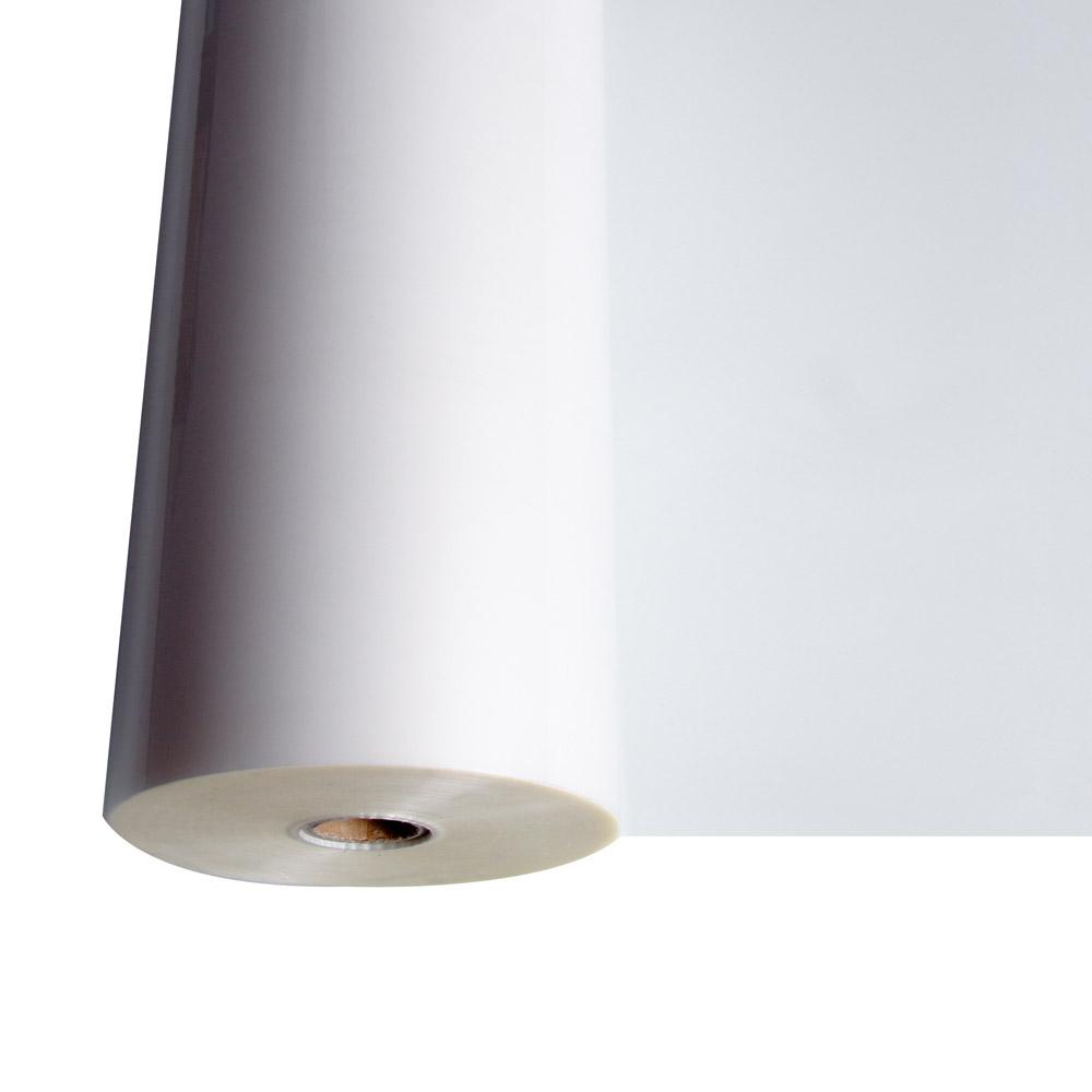 Folia laminacyjna rolowa błyszcząca - O.FILM Super 75 µm - 100 m - średnica glizy 25 mm - szerokość 455 mm