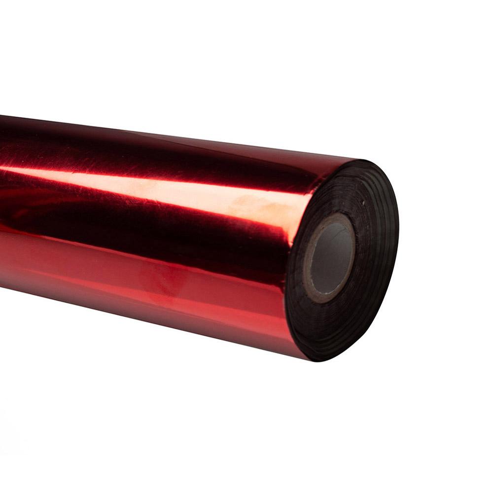 Folia do złoceń, nabłyszczeń w rolce na wydrukach laserowych przy użyciu termotransferu - O.FOIL Toner Print - 21,3 cm x 200 m - czerwony