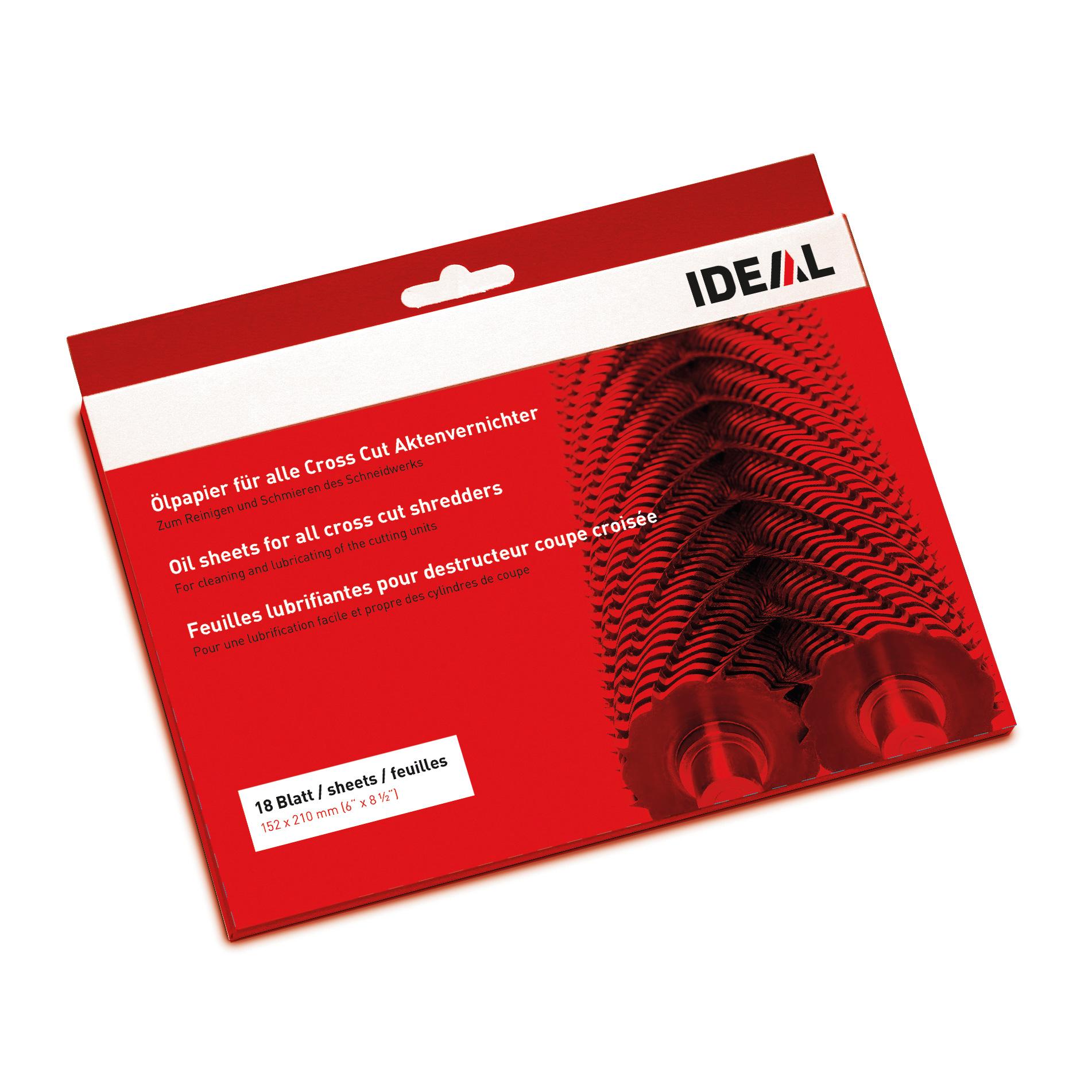 Uniwersalne koperty olejowe IDEAL - 18 sztuk