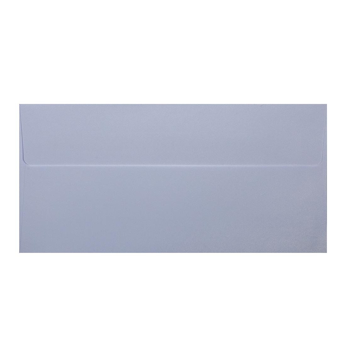 Wysokiej jakości koperty ozdobne - O.Koperta DL - PERŁA - 120 g/m² - śnieżnobiały - 10 sztuk