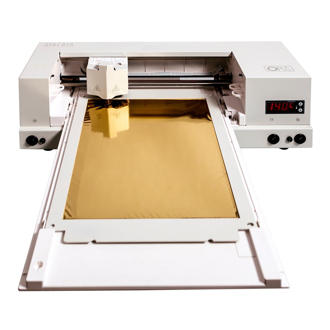 Ploter złocący - Sideris printer