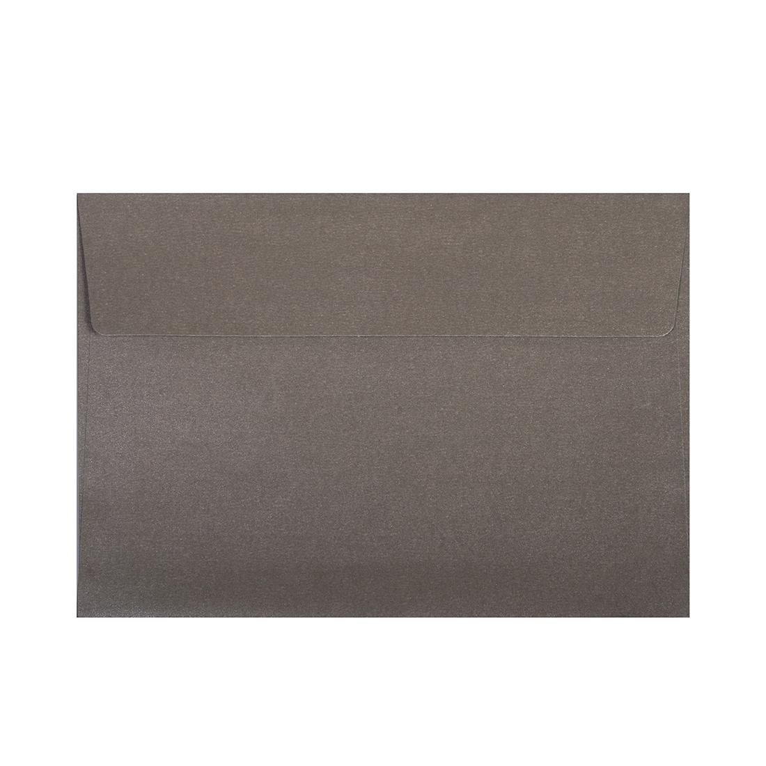 Wysokiej jakości koperty ozdobne - O.Koperta C6 - PERŁA - 120 g/m² - szary - 10 sztuk