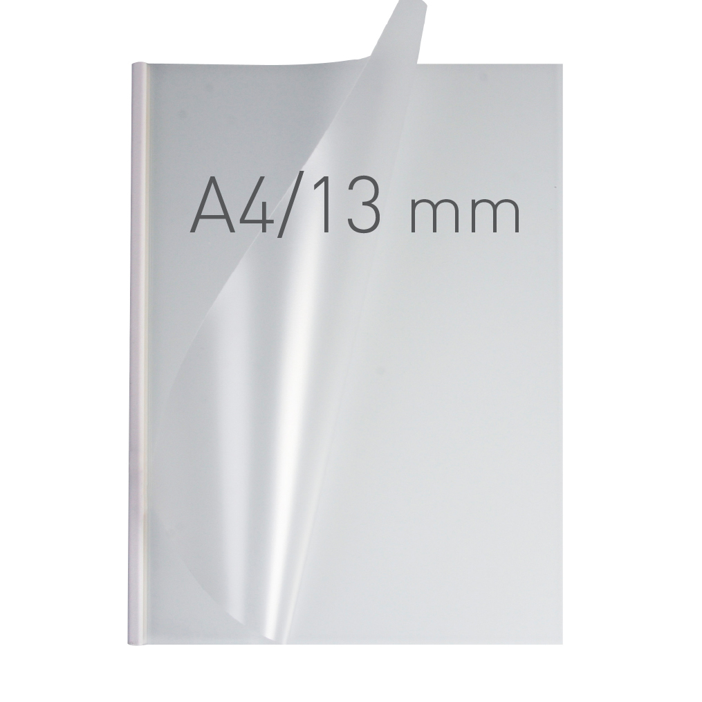 O.EASY COVER Double Semi Matt - (13 mm) - 297 x 210 mm (A4 pionowa) - biały - 30 sztuk
