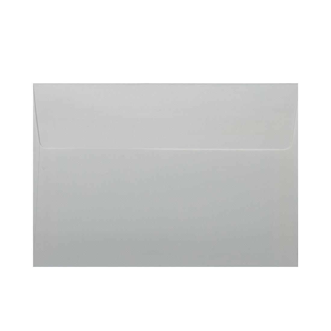 Wysokiej jakości koperty ozdobne - O.Koperta C6 - LEN - 120 g/m² - biały - 10 sztuk