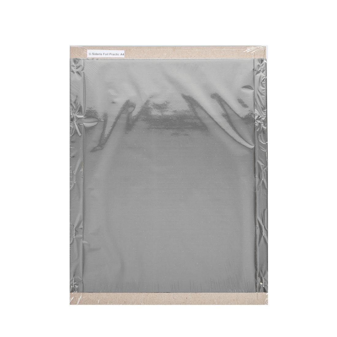 Folia do złoceń, nabłyszczeń w arkuszach - O.FOIL SIDERIS Practic - A4 (297 x 210 mm) - srebrny - 200 arkuszy