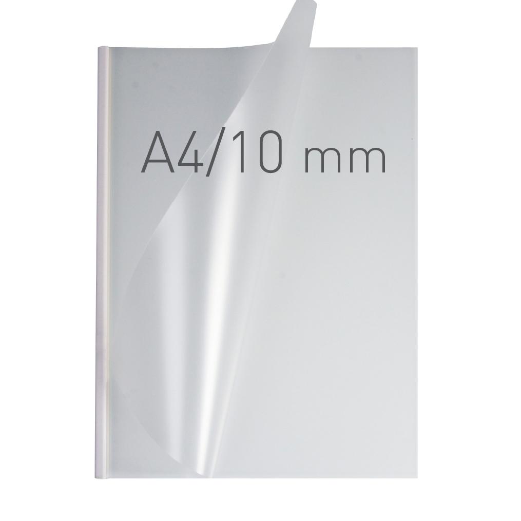 O.EASY COVER Double Semi Matt - (10 mm) - 297 x 210 mm (A4 pionowa) - biały - 30 sztuk