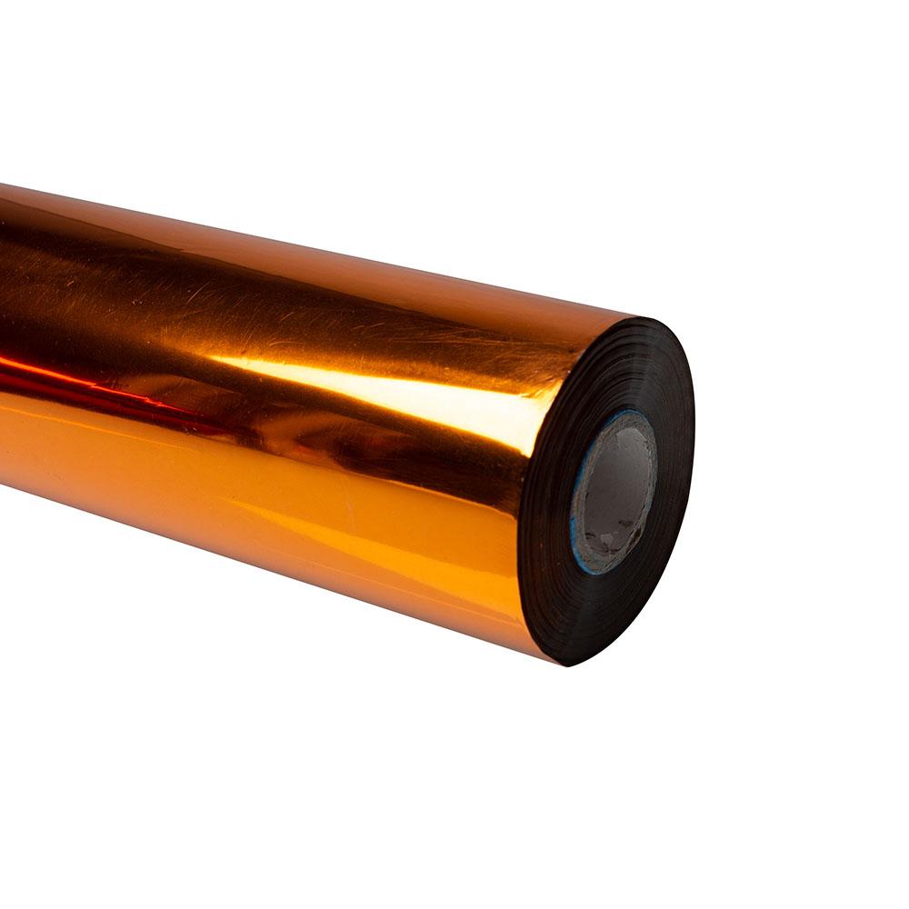 Folia do złoceń, nabłyszczeń w rolce na wydrukach laserowych przy użyciu termotransferu - O.FOIL Toner Print - 32 cm x 200 m - miedziany