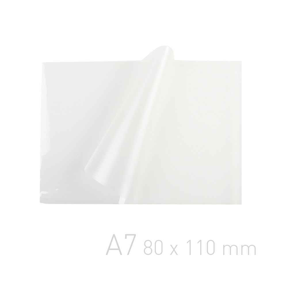 Folia laminacyjna - O.POUCH Matt / Clear 80 x 110 mm (A7)