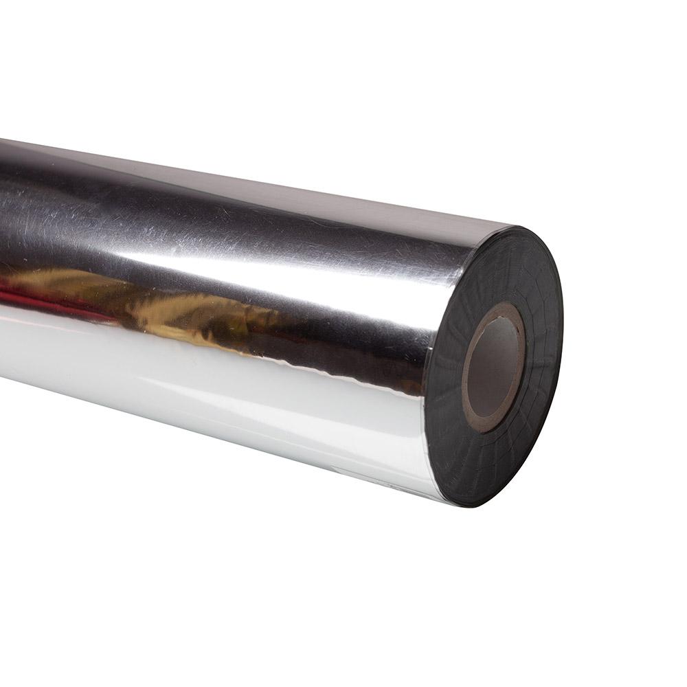 Folia do złoceń, nabłyszczeń w rolce na wydrukach laserowych przy użyciu termotransferu - O.FOIL Toner Print - 64 cm x 200 m - srebrny