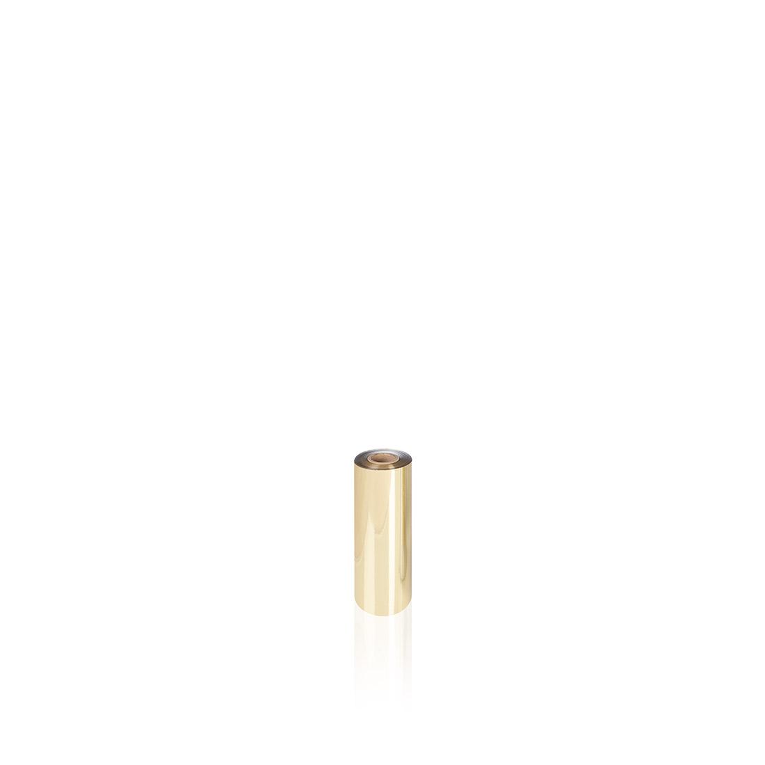 Uniwersalna folia do złoceń, nabłyszczeń w rolce - O.FOIL NEW UNIVERSAL - 16 cm x 120 m - złoty