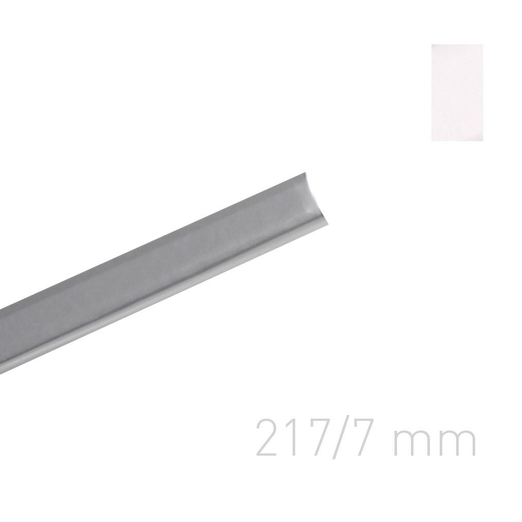 Kanał oklejany - O.CHANNEL Art 217 mm (A4+ poziomo, A5+ pionowo) - 7 mm - srebrny - 10 sztuk