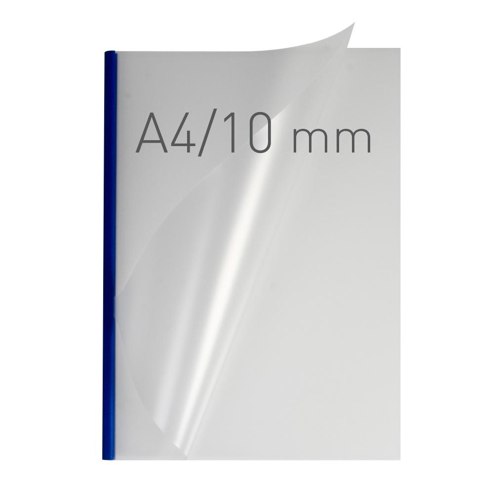 O.EASY COVER Double Semi Matt - (10 mm) - 297 x 210 mm (A4 pionowa) - niebieski - 30 sztuk