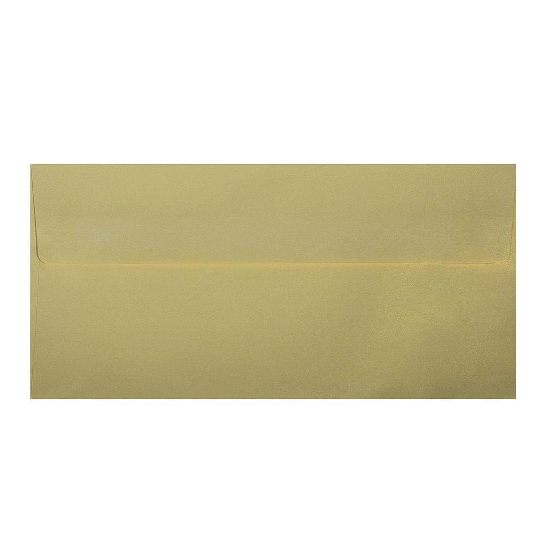 Wysokiej jakości koperty ozdobne - O.Koperta DL - PERŁA - 120 g/m² - kość słoniowa - 10 sztuk
