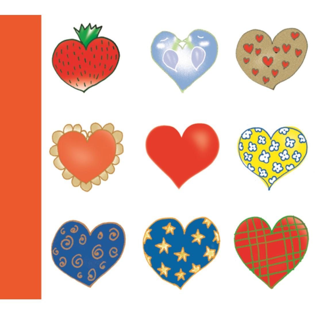O.CD COVER - Hearts - 10 sztuk