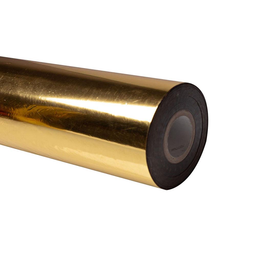 Folia do złoceń, nabłyszczeń w rolce na wydrukach laserowych przy użyciu termotransferu - O.FOIL Toner Print - 32 cm x 200 m - złoty
