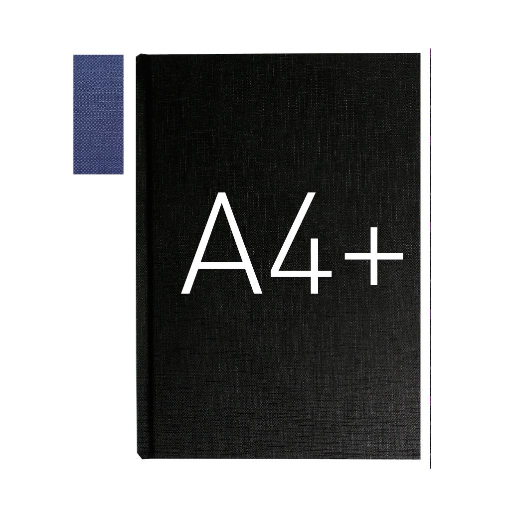 Okładka twarda - O.HARD Texture C (16 mm) 304 x 212 mm (A4+ pionowa) - czarny - 10 sztuk