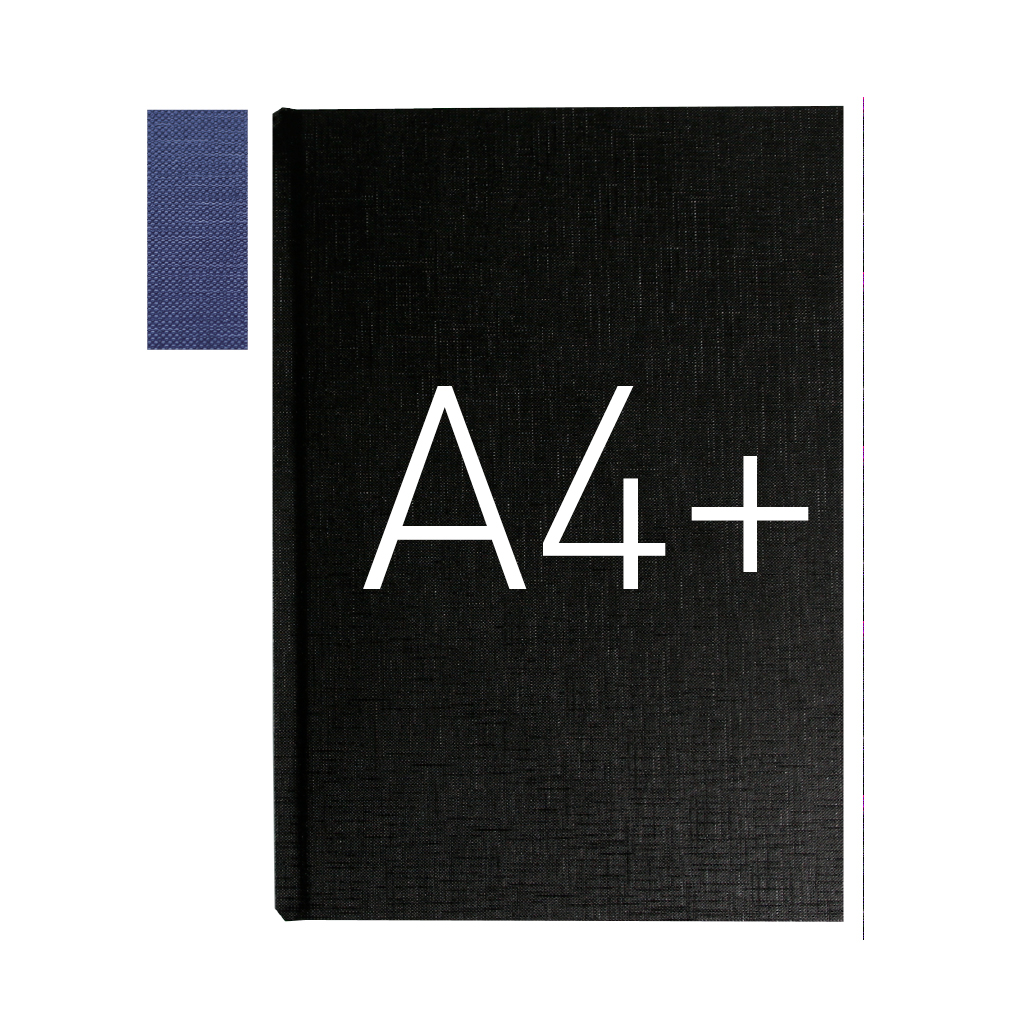 Okładka twarda - O.HARD Texture C (16 mm) 304 x 212 mm (A4+ pionowa) - niebieski - 10 sztuk